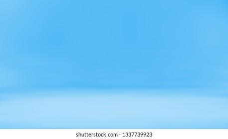 Blank back design.3d illustration.Empty space floor background.Sun light and studio light