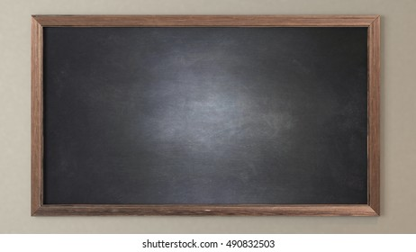Blank blackboard 3D design and rendering for your project by Sedat SEVEN