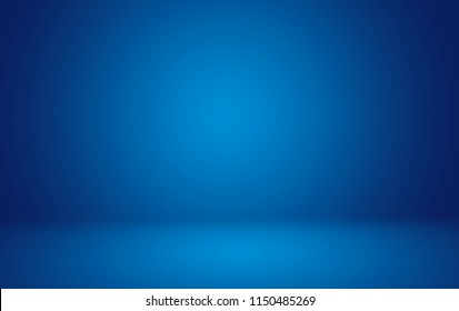 Blank blue background