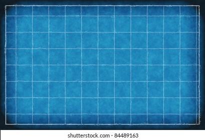 Old blue print blueprint background texture stock illustration blank blueprint background illustration malvernweather Gallery