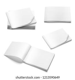 Blank brochure magazin mock-up design
