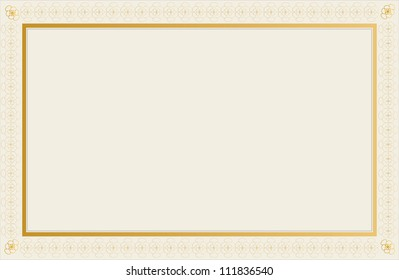 blank certificate design stock vector royalty free 111830669