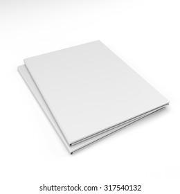 Blank folder template
