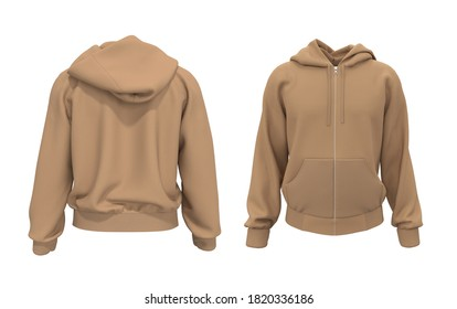 Hooded Jacket Template Images Stock Photos Vectors Shutterstock