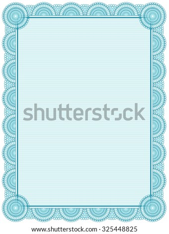 photograph regarding Printable Certificate Paper named blank printable certification -