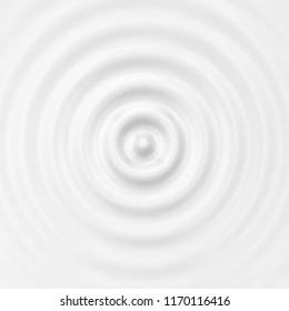 Blank ripple effect. 3d background