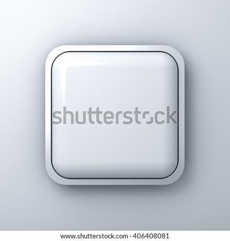 Royalty Free Stock Illustration of Blank Square Button Billboard ...