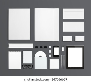 blank stationery images stock photos vectors shutterstock