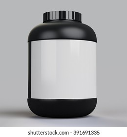 blank supplement bottle template