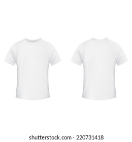 blank gray tshirt front back isolated の写真素材 今すぐ編集