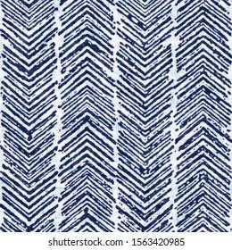 Bleached Effect Textured Herringbone Stripes. Seamless Pattern.