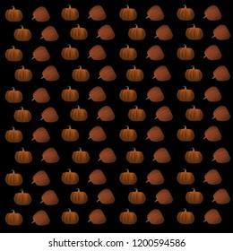 bleak wallpaper. orange pumpkin. vegetable