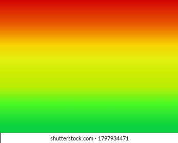 A blend of red to yellow and green gradations, perfect for the background