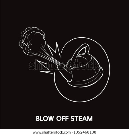to blow off steam