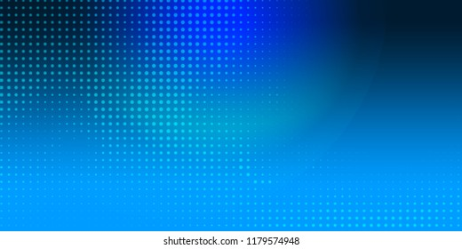 Blue abstract background, dotted lines mesh wallpaper