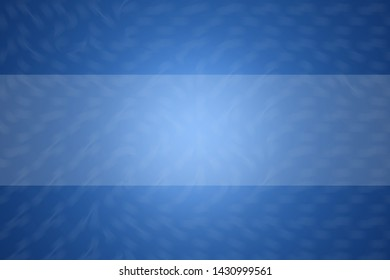 Blue abstract background illustration, Copy space for text banner,