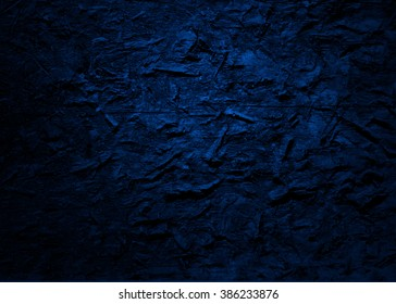 Blue abstract   background , with   painted  grunge background texture for  design .