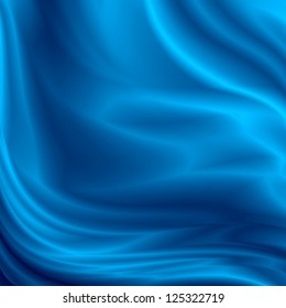 blue abstract background silk satin texture