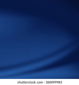 blue abstract background - smooth silk texture