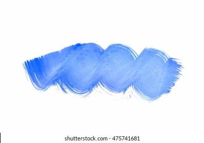 Blue abstract background, sponge grunge wave, light to dark gradient, light blue transparent watercolor