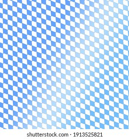 Blue abstract checkered pattern seamless background