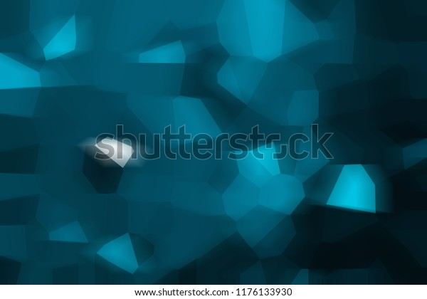Blue Abstract Mosaic Background Spring Business