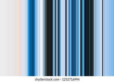 Blue aero azure denim, colorful seamless stripes pattern. Abstract illustration background. Stylish modern trend colors backdrop.