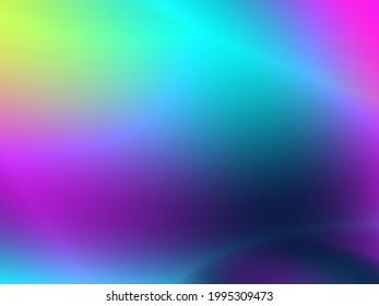 Blue art abstract fantasy digital website header