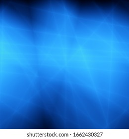 Blue art abstract light energy shine design