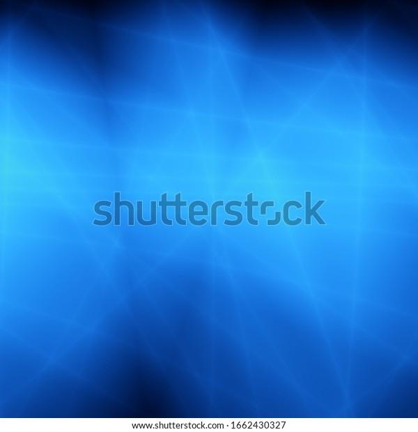 Blue art abstract light energy shine design