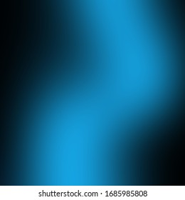 Blue background. Gradient Cold shades.