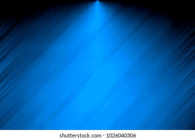 Blue background illustration, light coming out of the middle