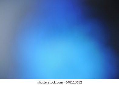фотообои Blue blurry monophonic background texture pattern wallpaper