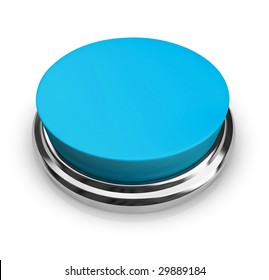 A blue button with an empty area for you to place your own text