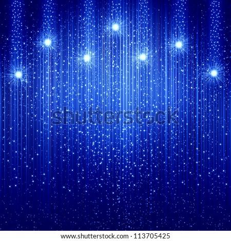 blue christmas background - Blue Christmas Background