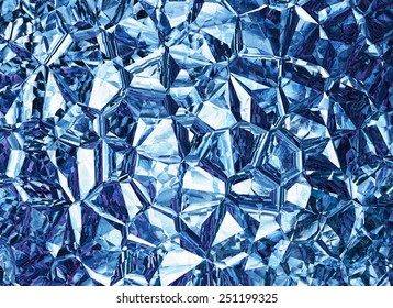 blue colored relief crystal backgrounds