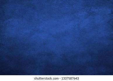 Blue concrete wall grunge texture