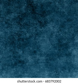 Blue designed grunge texture. Vintage background with space for text or image - Shutterstock ID 683792002