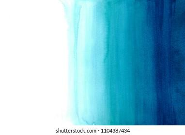 Blue dip dye background