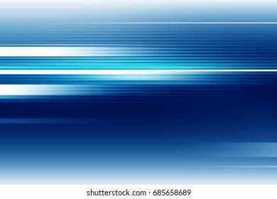 Blue futuristic motion blur background
