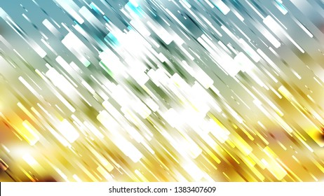 Blue and Gold Abstract Asymmetric Random Lines Background