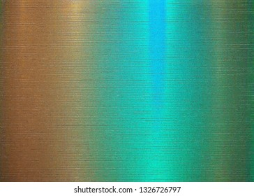 blue gold rough metallic surface with gradient color background