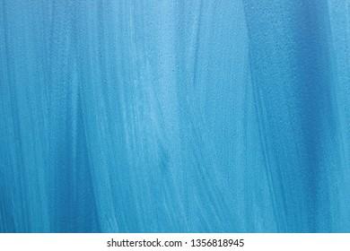 blue gouache background