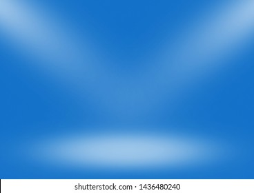 Blue gradient background limbo classic
