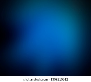 Blue gradient. Blue blurred abstract background
