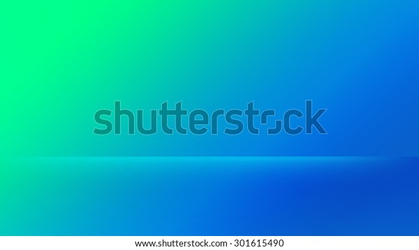 Blue Green Gradient Design Background Wallpaper