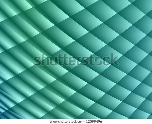 Blue green net design (abstract background)