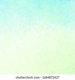 Blue green yellow background with blur, gradient and watercolor texture. Grunge texture. Space for graphics and text. Background paper texture for vintage design.