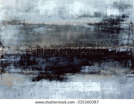 a08dc88d199 Blue Grey Abstract Art Painting Stock Illustration 335360387 ...