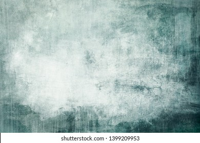 Blue grungy distressed canvas bacground